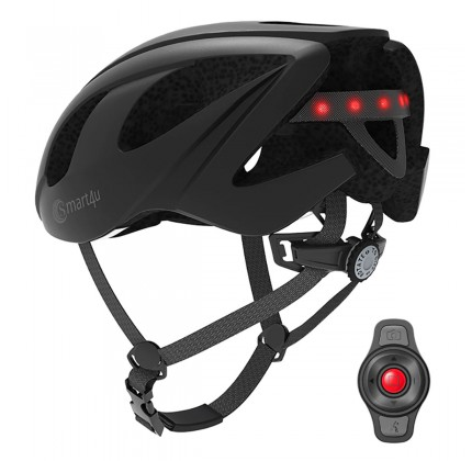 Smart4u SH55M Helmet - Bluetooth - LED Warning-SOS-Walkie Talkie